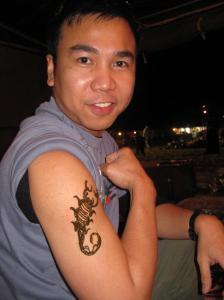 scorpion-henna-tattoo